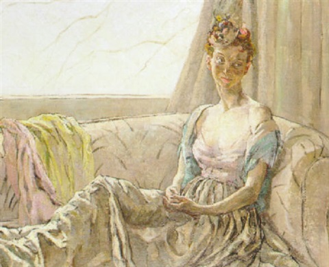 pam at the window by ethel gabain