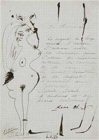 odalisque et poème by rené char et pablo picasso
