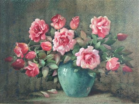 still life of roses by james gray