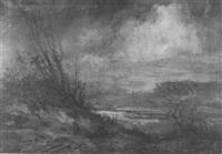 landscape near maastricht by walthère joseph neuhof