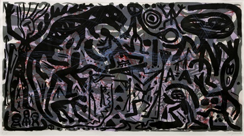 work by ar penck
