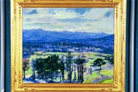the inns mountain golf course, ashville, north carolina (mt. pisgah) by heinrich h. pfeiffer