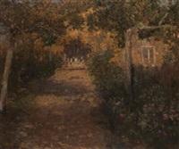 giardino con viale by serafino macchiati