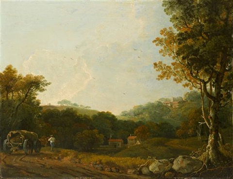 wooded landscape by richard wilson