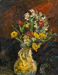 blumen in vase by leon abramowicz