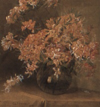 bowl of flowers by charles lewis fussell