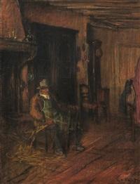 vieux vannier by edouard (eugène françois) vallet