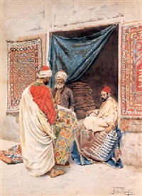 the carpet merchant by giulo rosati