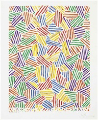 cicada (from marginalia: hommage to shimizu) by jasper johns