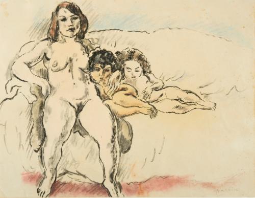 femmes et enfants by jules pascin
