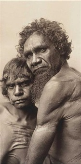 coontajandra and sanginguble, central aboriginals by john william lindt