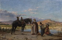 at the oasis by adolf karol sandoz