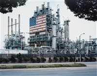 bp carson refinery, california from american power by mitch epstein
