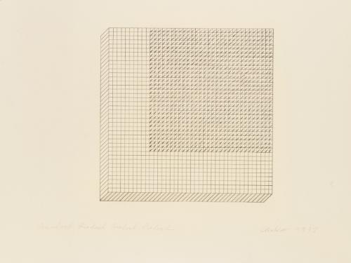 quadrat quadrat quadrat quadrat by günther uecker