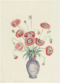 sommermohn. iris by gabriele münter
