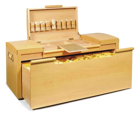 shoe trunk by hermès