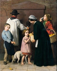 the drinking fountain by william charles thomas dobson