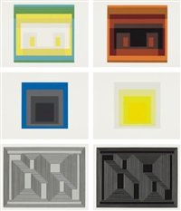 formulation articulation i and ii by josef albers