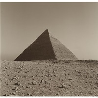cheops, giza, cairo, egypt by lynn davis