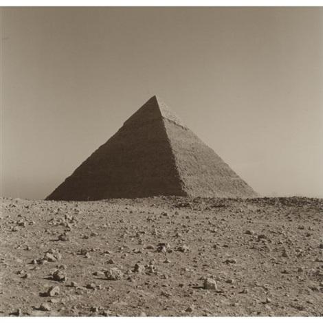 cheops giza cairo egypt by lynn davis