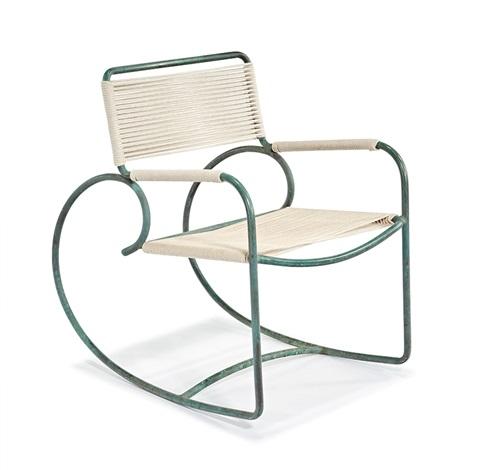 Stupendous Rocking Chair By Walter Lamb On Artnet Inzonedesignstudio Interior Chair Design Inzonedesignstudiocom