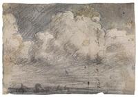 cielo nuvoloso sul mare di capri by pratella attilio