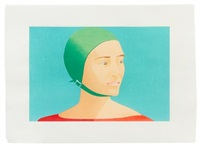 the green cap by alex katz