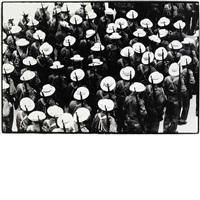 la caballeria (the cavalry) and los sombreritos (the sombreros) (2 works) by raul corrales