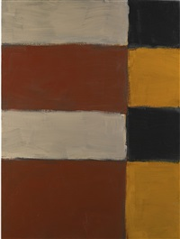 tilted mirror by sean scully