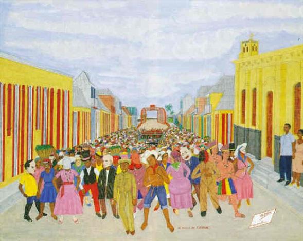 un mardi de carnaval by philomé obin