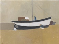 barques de pêche (espagna) by leo andenmatten