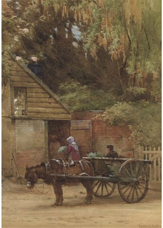 unloading vegetables by edward henry fahey