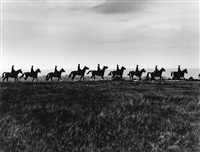 riders in spain by gordon parks