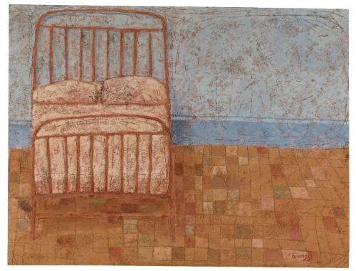 neapolitan bed by domenico gnoli