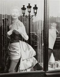 vitres, vitrines (portfolio of 12) by edouard boubat