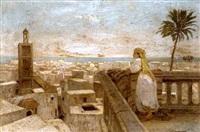 blick über algier by karl hofmann