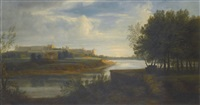 view of windsor castle by peter tillemans