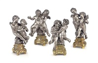 figural groups emblematic of the four seasons (set of 4) by eugenio avolio