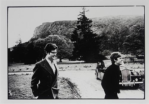 robert frazer and mike mccartney luggalor ireland by michael cooper