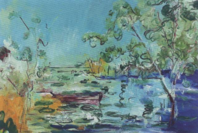 Sommerlicher Seerosenteich By Jean Louis Piguet On Artnet