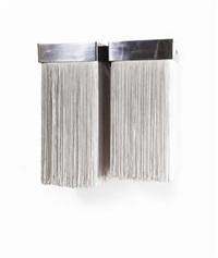 coppia di lampade da parete modello 259/2 (pair) by massimo vignelli