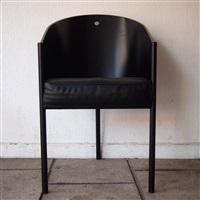 4 fauteuils, modèle coste by philippe starck