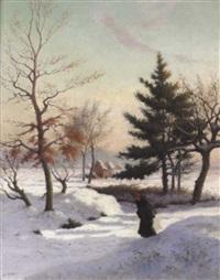neige à astene by alphonse asselbergs