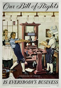 our bill of rights - is everybody's business by posters: propaganda