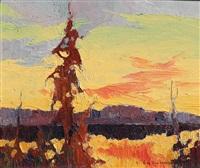 twilight landscape by orestes (rick) nicholas de grandmaison