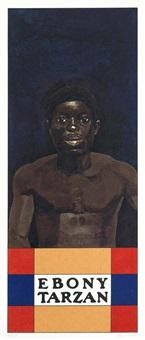 ebony tarzan (from the wrestlers suite) by peter blake