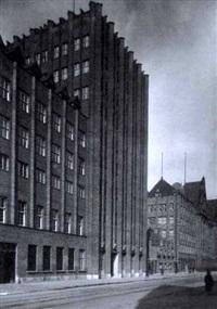 stahlhof (neubau des verwaltungsgebäudes des stumm-konzerns in düsseldorf) by julius söhn