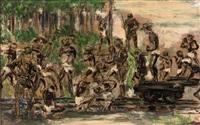 japanse krijgsgevangenen by ben (barend jan) snyders
