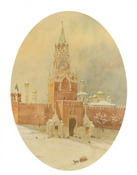 the kremlin by vasili vasilievich vereshchagin