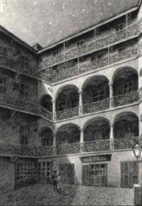 arkadenhof mit dem magazin josef gerlich by gustav zafaurek